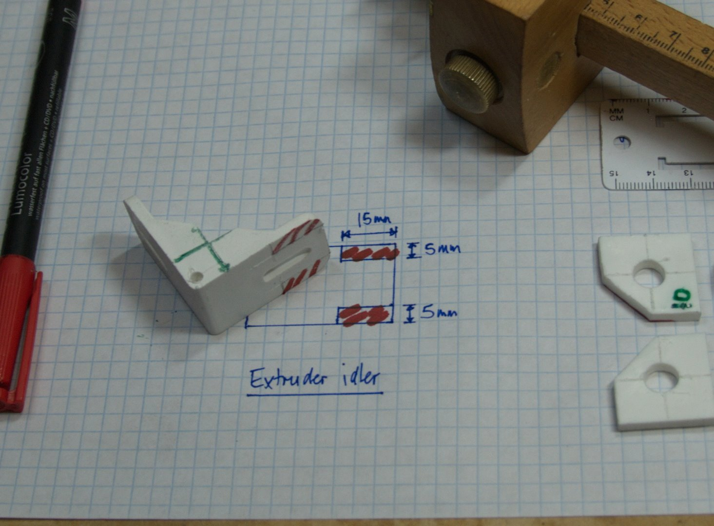 Picture of Extruder: Idler