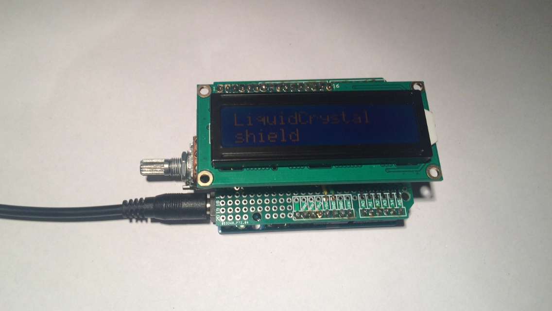 Picture of DIY Arduino LCD Shield