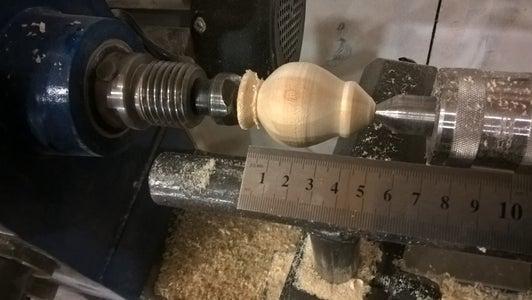 Shape the Handle Using a Lathe