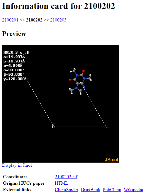 Picture of Find the Molecular Structure