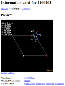 Find the Molecular Structure