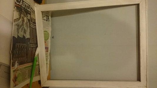 Prep the Canvas Frame