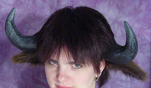 Picture of Attaching Horns and Ears to the Headband