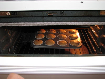Step 3 - Baking the Cupcakes