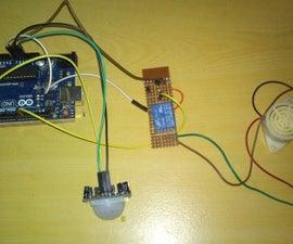 Motion Sensored Security System