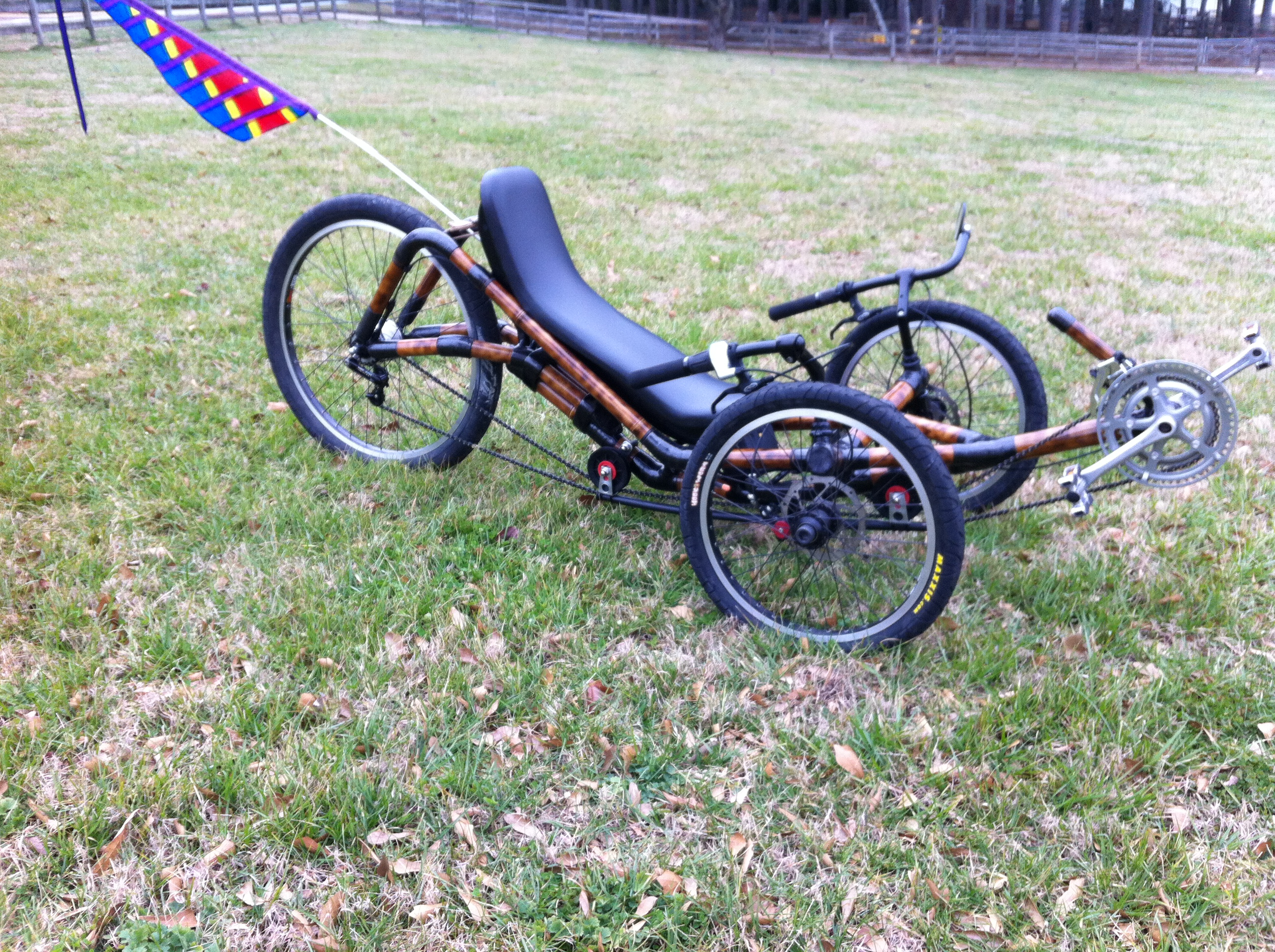 Picture of Building a Recumbent Trike Seat.