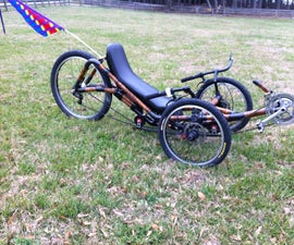 Building a Recumbent Trike Seat.