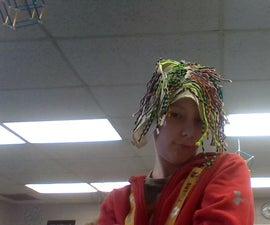 DIY Mardi Gras Parachord Wig!