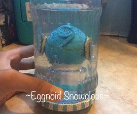 DIY Eggnoid Egg Snowglobe