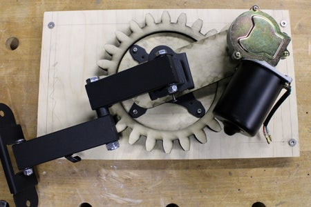 Attach Gears to Mounting Plate
