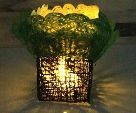 3D Pen Tree Lantern