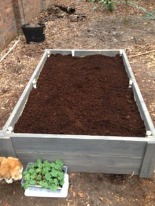 Fill the Bed With Soil
