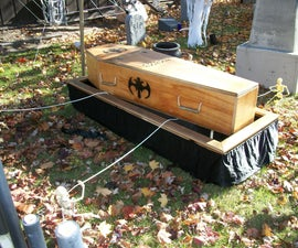 Coffin/Casket Lowering Device Stand