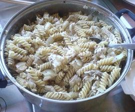 Dijonnaise Mustard Pasta for the College Student