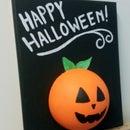 Kids Jack-o'-lantern Halloween Craft