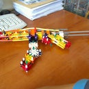 The Knex mp5 with a realistic magazine