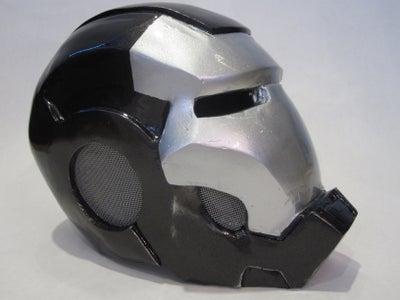 Iron Man War Machine Helmet