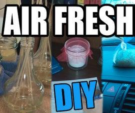 DIY Air Freshener. 4 Ways