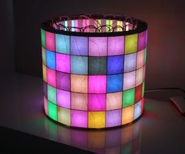 LED Matrix Cylinder