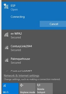 Connect to Device From Computer Via WIFI