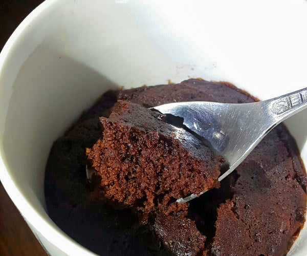Microwave Brownie