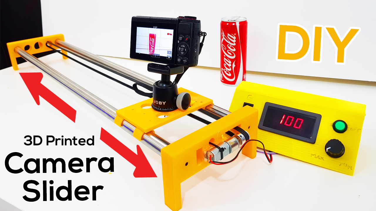 Picture of 3D Printed Motorized Camera Slider
