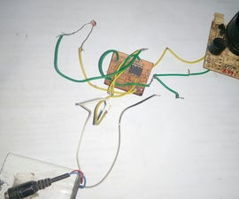 Security Alarm Using Ic555 and Ldr