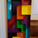 Modular Laser Cut Tetris Shelves