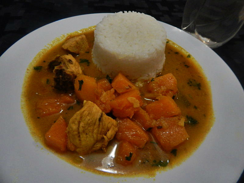 Picture of Pumpkin Chicken Curry