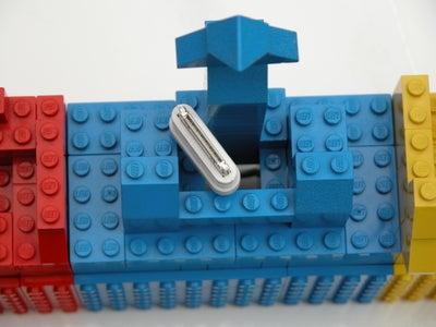 IPod - Blue Unit - It's Got a Hole in It!