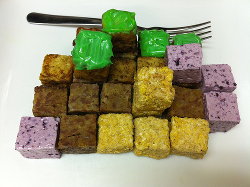 Picture of Minecraft Brunch Cubes