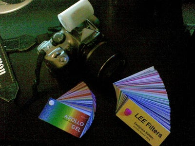 DIY Flash Diffuser With Hundreds of FREE Color Filters