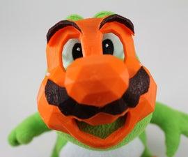3D Printable 16 Bit Plumber Mask
