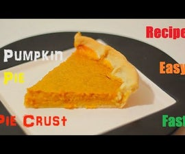 How to Make Pumpkin Pie and Pie Crust