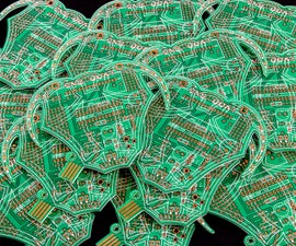 Wearable PCB Guerilla Currency - The 'Golden Goat'