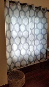 Hem Store Bought Curtains and Save Remnant