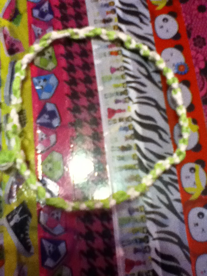 Picture of How to Make a Double Knotted Friendship Bracelets