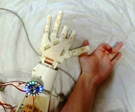 Robotic Hand Control With EMG