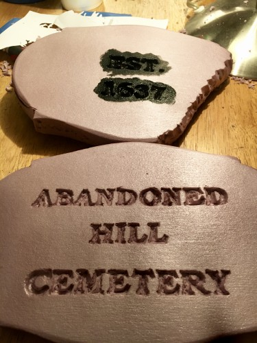 Picture of Engraved Stone Plaques