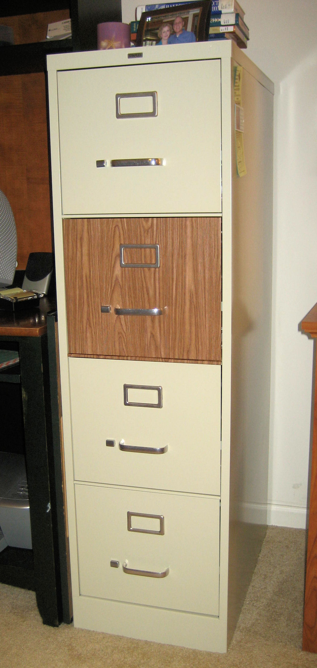 Picture of Step Back and Admire Your New and Improved File Cabinet!