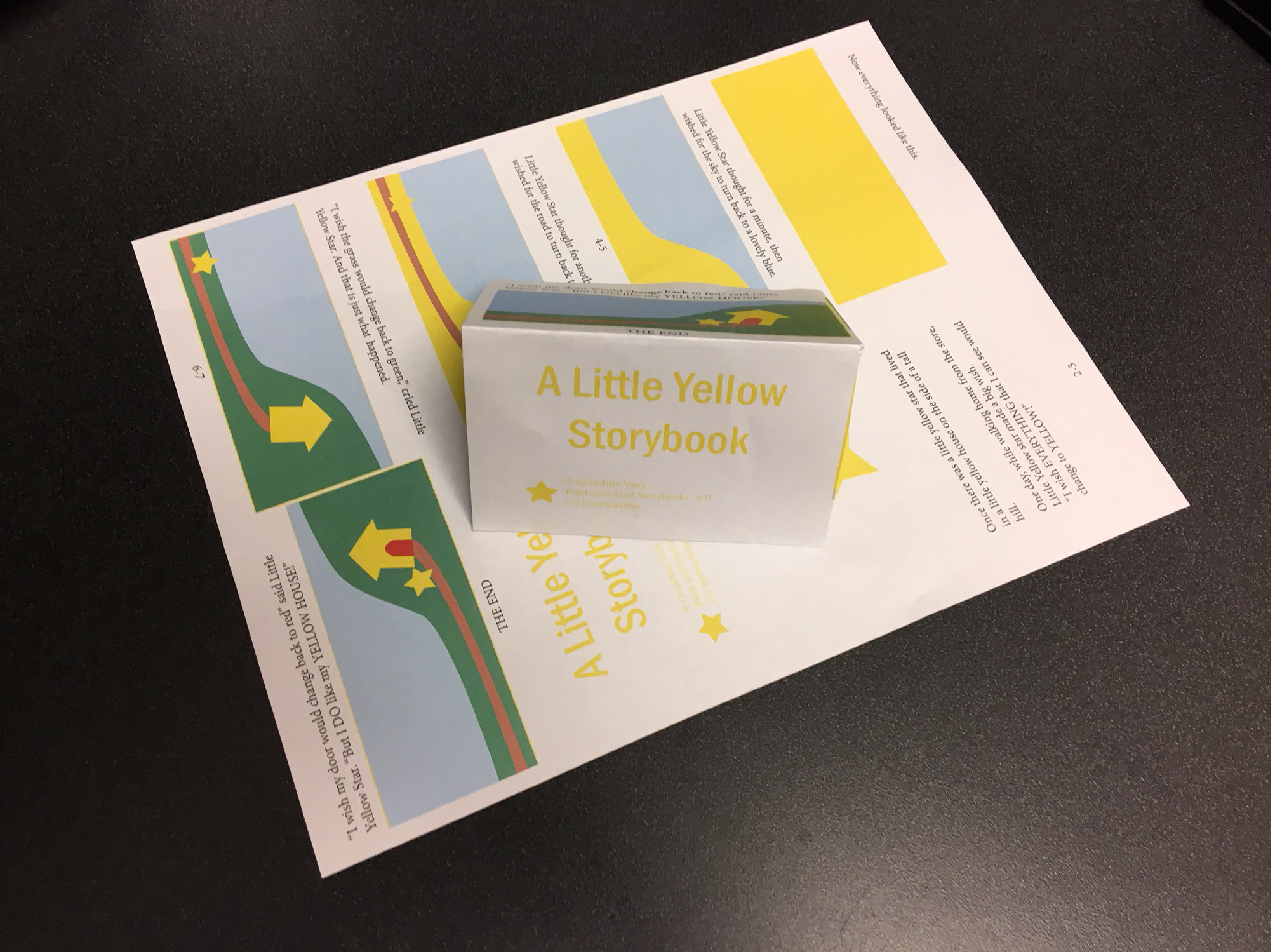 Picture of A Little Yellow Storybook (#21)