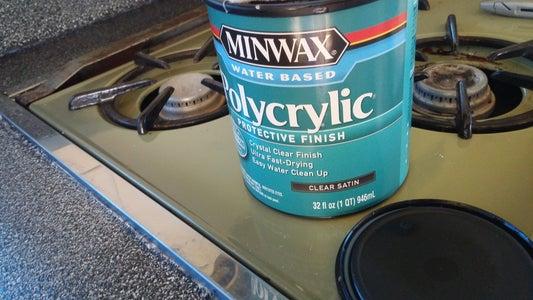 Add the Polycrylic