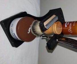 Drip Brush & Shaving Stand