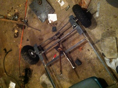 Wheel Assembly/Steering System - Front