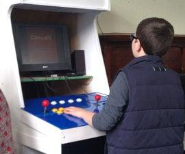 Kids Build - Raspberry Pi Arcade Cabinet
