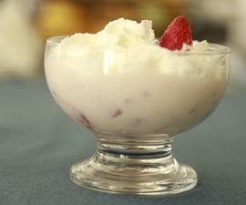 Fresas Con Crema (Strawberries Mex Dessert)