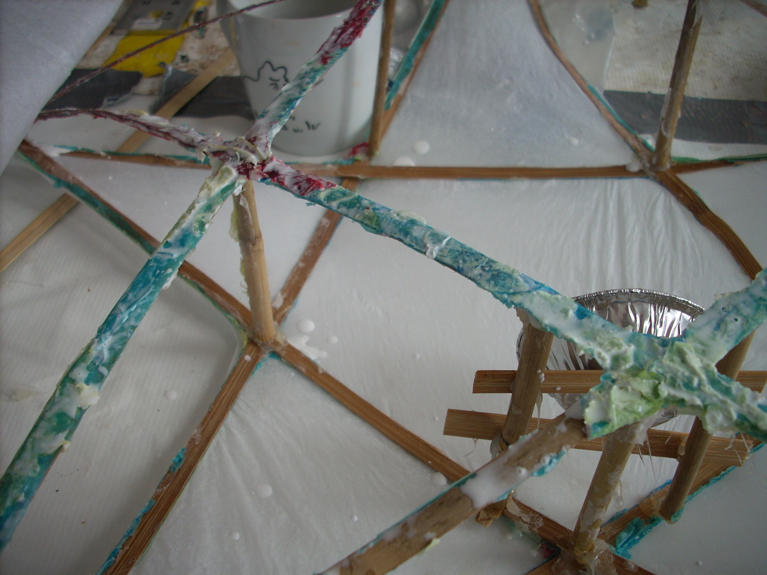 Picture of Papering the Lantern: Front and Back