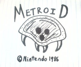 How To Draw a Metroid