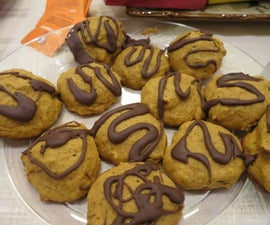 Pumpkin Cookies for the Whole Party!