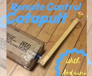 Remote Control Catapult